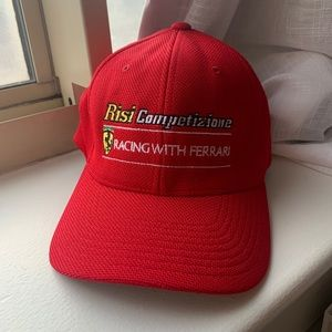 Ferrari Risi Racing Red baseball cap one size